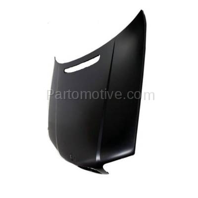 Aftermarket Replacement - HDD-1043 1999-2001 BMW 3-Series 320i/323i/325i/325xi/328i/330i/330xi (Sedan & Wagon 4-Door) E46 Front Hood Panel Assembly Primed Steel - Image 2