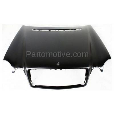 Aftermarket Replacement - HDD-1502 1996-1999 Mercedes-Benz E-Class E300/E320/E430/E55 AMG (Sedan & Wagon) (210 Chassis) Front Hood Panel Assembly Primed Steel - Image 1