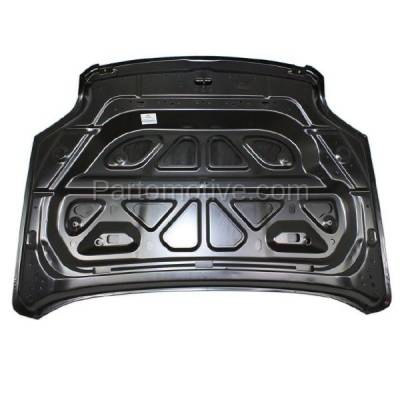 Aftermarket Replacement - HDD-1307 2010-2015 GMC Terrain (Denali, SL, SLE, SLT) Sport Utility 4-Door (2.4 & 3.0 & 3.6 Liter Engine) Front Hood Panel Assembly Primed Steel - Image 2