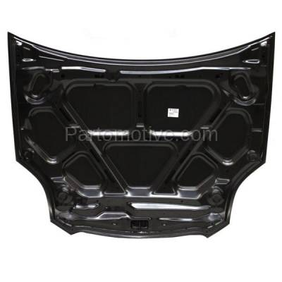 Aftermarket Replacement - HDD-1542 2007-2012 Mitsubishi Eclipse (GS, GS Sport, GT, GT-P, SE, Spyder) Convertible & Coupe & Hatchback Front Hood Panel Assembly Primed Steel - Image 3