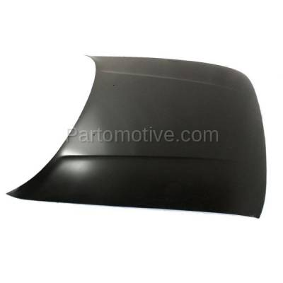Aftermarket Replacement - HDD-1552 1991-1994 Nissan Sentra (Base, Classic, E, GXE, Limited, SE, SE-R, XE) 1.6 & 2.0 Liter (Sedan) Front Hood Panel Assembly Primed Steel - Image 2