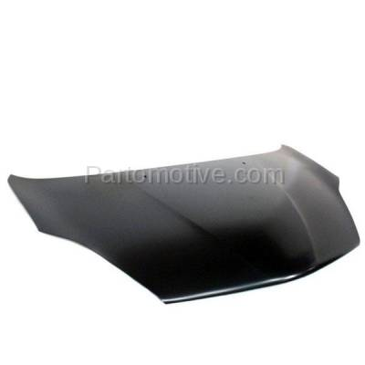 Aftermarket Replacement - HDD-1687 2004-2010 Toyota Sienna (CE, LE, Limited, XLE) Cargo & Passenger Van (3.3 & 3.5 Liter V6 Engine) Front Hood Panel Assembly Primed Steel - Image 2