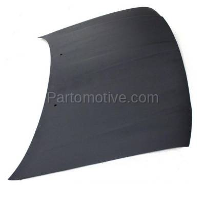 Aftermarket Replacement - HDD-1186 2003-2005 Lincoln Aviator (4.6 Liter V8 Engine) Sport Utility 4-Door Front Hood Panel Assembly Primed Fiberglass - Image 2