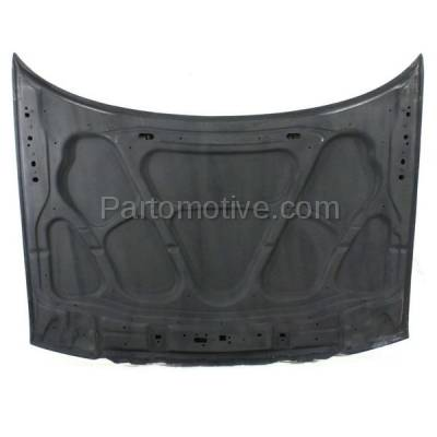 Aftermarket Replacement - HDD-1186 2003-2005 Lincoln Aviator (4.6 Liter V8 Engine) Sport Utility 4-Door Front Hood Panel Assembly Primed Fiberglass - Image 3
