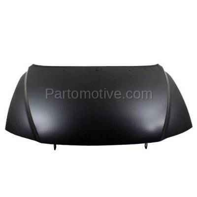 Aftermarket Replacement - HDD-1767 2000-2006 Volvo S80 (2.5T, 2.5T AWD, 2.9, T6, T6 Premier) Sedan 4-Door (2.5 & 2.9 Liter Engine) Front Hood Panel Assembly Primed Steel - Image 1