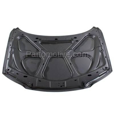 Aftermarket Replacement - HDD-1767 2000-2006 Volvo S80 (2.5T, 2.5T AWD, 2.9, T6, T6 Premier) Sedan 4-Door (2.5 & 2.9 Liter Engine) Front Hood Panel Assembly Primed Steel - Image 3