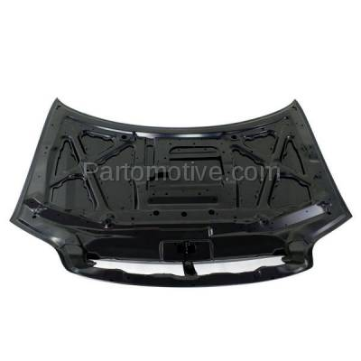 Aftermarket Replacement - HDD-1435 2003-2005 Kia Sedona (EX, LX) Mini Passenger Van 5-Door (3.5 Liter V6 Engine) Front Hood Panel Assembly Primed Steel - Image 3