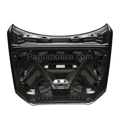 Aftermarket Replacement - HDD-1030 2009-2012 Audi Q5 (Sport Utility 4-Door) Front Hood Panel Assembly Primed Aluminum - Image 3