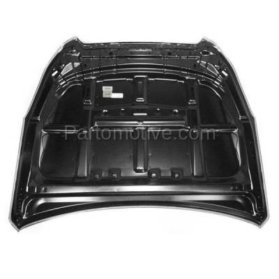 Aftermarket Replacement - HDD-1634 2010-2014 Subaru Legacy & Outback (Sedan & Wagon 4-Door) 2.5 & 3.6 Liter H4/H6 Engine (Non-Turb) Front Hood Panel Assembly Primed Steel - Image 3
