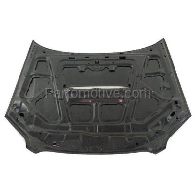 Aftermarket Replacement - HDD-1622 2005-2009 Subaru Legacy & 2005-2007 Outback (GT, GT Limited, GT spec.B, XT, XT Limited) Sedan & Wagon 2.5L Turbo Front Hood Panel Primed Aluminum - Image 3