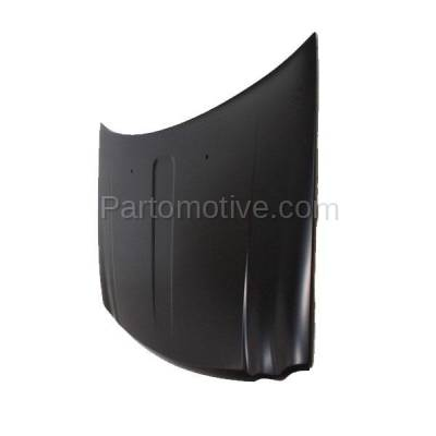 Aftermarket Replacement - HDD-1098 2005-2010 Jeep Grand Cherokee (Laredo, Limited, North, Overland, S Limited, SRT8) Front Hood Panel Assembly Primed Aluminum - Image 2