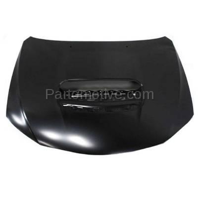 Aftermarket Replacement - HDD-1632 2008-2013 Subaru Impreza (2.5 GT, WRX Limited/STI/Premium) & 2013-2014 WRX STI (Base, Limited, Sport-tech) 2.5L Turbo Front Hood Panel Primed Steel - Image 1