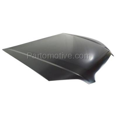 Aftermarket Replacement - HDD-1637 2005-2009 Subaru Legacy (Sedan & Wagon 4-Door) 2.5 & 3.0 Liter H4/H6 Engine (Non-Turbo) Front Hood Panel Assembly Primed Steel - Image 2