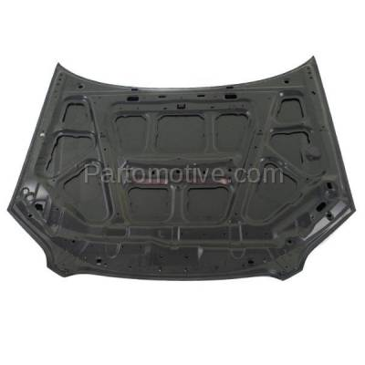 Aftermarket Replacement - HDD-1637 2005-2009 Subaru Legacy (Sedan & Wagon 4-Door) 2.5 & 3.0 Liter H4/H6 Engine (Non-Turbo) Front Hood Panel Assembly Primed Steel - Image 3