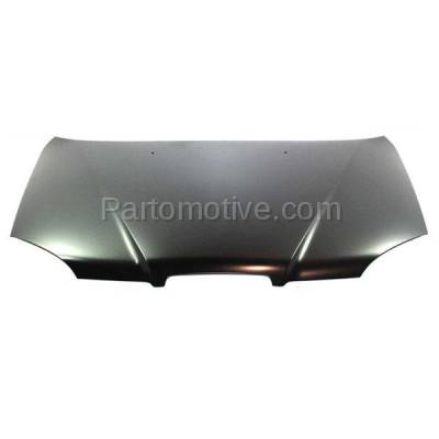Aftermarket Replacement - HDD-1652 2004-2005 Suzuki Forenza (EX, LX, S) Sedan & Wagon 4-Door (2.0 Liter Engine) Front Hood Panel Assembly Primed Steel - Image 1