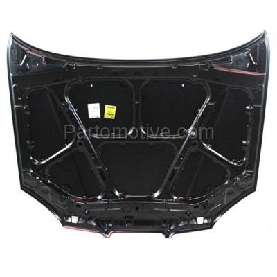 Aftermarket Replacement - HDD-1652 2004-2005 Suzuki Forenza (EX, LX, S) Sedan & Wagon 4-Door (2.0 Liter Engine) Front Hood Panel Assembly Primed Steel - Image 3