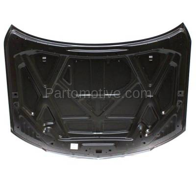 Aftermarket Replacement - HDD-1199 2006 Lincoln Zephyr & 2007-2009 MKZ (Sedan 4-Door) 3.0L/3.5L Front Hood Panel Assembly Primed Steel - Image 2