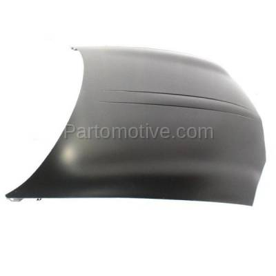 Aftermarket Replacement - HDD-1239 2000-2005 Chevy/Chevrolet Monte Carlo (LS, LT, SS, SS Dale Earnhardt, SS Pace Car) Coupe 2-Door Front Hood Panel Assembly Primed Steel - Image 2