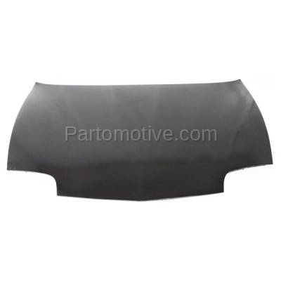 Aftermarket Replacement - HDD-1219 1995-2002 Pontiac Sunfire (GT, SE) (Convertible, Coupe, Sedan) Front Hood Panel Assembly Primed Steel - Image 1