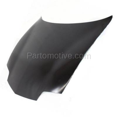 Aftermarket Replacement - HDD-1219 1995-2002 Pontiac Sunfire (GT, SE) (Convertible, Coupe, Sedan) Front Hood Panel Assembly Primed Steel - Image 2
