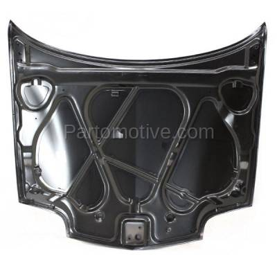 Aftermarket Replacement - HDD-1219 1995-2002 Pontiac Sunfire (GT, SE) (Convertible, Coupe, Sedan) Front Hood Panel Assembly Primed Steel - Image 3