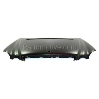 Aftermarket Replacement - HDD-1506 2003-2009 Mercedes-Benz E-Class E280/E300/E320/E350/E500/E550/E55 & E63 AMG (Sedan & Wagon) Front Hood Panel Assembly Primed Aluminum - Image 1