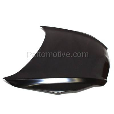 Aftermarket Replacement - HDD-1705 2009-2014 Toyota Matrix (AWD, Base, S, WRS, XR, XRS) Wagon 4-Door (1.8 & 2.4 Liter Engine) Front Hood Panel Assembly Primed Steel - Image 2
