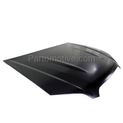 Aftermarket Replacement - HDD-1765 2005-2007 Subaru Outback (2.5i, i, R L.L. Bean Edition, R, R VDC Limited, VDC Limited) Front Hood Panel Assembly Primed Steel - Image 2