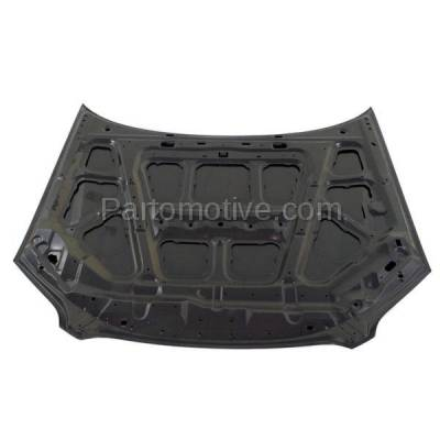 Aftermarket Replacement - HDD-1765 2005-2007 Subaru Outback (2.5i, i, R L.L. Bean Edition, R, R VDC Limited, VDC Limited) Front Hood Panel Assembly Primed Steel - Image 3