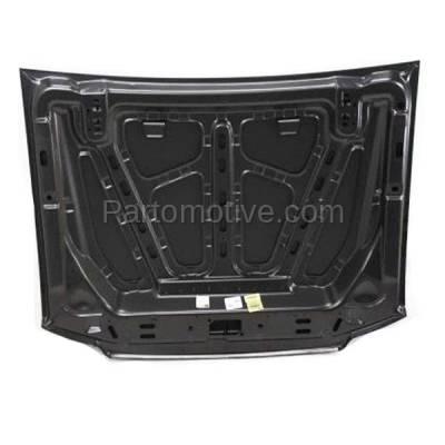 Aftermarket Replacement - HDD-1173 2001-2003 Ford Explorer & 2001-2005 Explorer Sport Trac V6/V8 (Sport Utility 2 & 4-Door) Front Hood Panel Assembly Primed Steel - Image 3