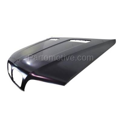 Aftermarket Replacement - HDD-1048 2000-2003 BMW X5 (3.0i, 4.4i, 4.6is) Sport Utility 4-Door Front Hood Panel Assembly Primed Steel - Image 2