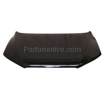 Aftermarket Replacement - HDD-1400 2007-2012 Hyundai Santa Fe (GL, GL Premium, GL Sport, GLS, Limited, SE) Front Hood Panel Assembly Primed Steel - Image 1