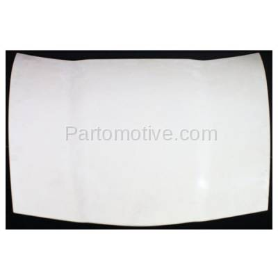 Aftermarket Replacement - HDD-1281 2005-2013 Chevy Corvette (Base, Grand Sport, Z06) V8 (Coupe & Convertible 2-Door) Front Hood Panel Assembly Primed Fiberglass - Image 1
