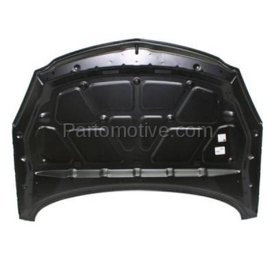 Aftermarket Replacement - HDD-1308 2011 Buick Regal CXL (Sedan 4-Door) 2.0 & 2.4 Liter Engine (without Hood Vent) Front Hood Panel Assembly Primed Aluminum - Image 3