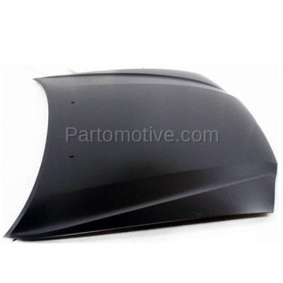 Aftermarket Replacement - HDD-1669 1998-2002 Toyota Corolla (CE, LE, S, VE) Sedan 4-Door (1.8 Liter Engine) Front Hood Panel Assembly Primed Steel - Image 2
