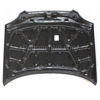 Aftermarket Replacement - HDD-1649 1999-2002 Suzuki Esteem (GL, GLX, GLX Plus) 1.6 & 1.8 Liter Engine (Sedan & Wagon) Front Hood Panel Assembly Primed Steel - Image 3