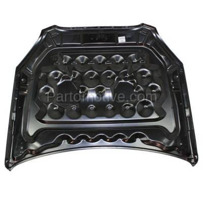 Aftermarket Replacement - HDD-1298 2006-2011 Buick Lucerne (CX, CXL, CXS, Super) Sedan 4-Door (3.8 & 3.9 & 4.6 Liter V6/V8 Engine) Front Hood Panel Assembly Primed Steel - Image 2