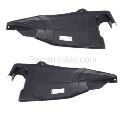 Aftermarket Replacement - ESS-1543L & ESS-1543R 93-02 Villager Front Engine Splash Shield Under Cover Left & Right Side SET PAIR - Image 1