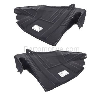 Aftermarket Replacement - ESS-1543L & ESS-1543R 93-02 Villager Front Engine Splash Shield Under Cover Left & Right Side SET PAIR - Image 2