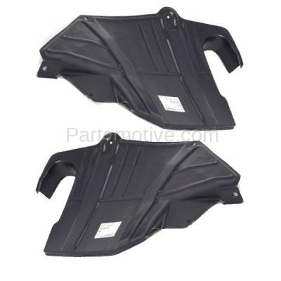 Aftermarket Replacement - ESS-1543L & ESS-1543R 93-02 Villager Front Engine Splash Shield Under Cover Left & Right Side SET PAIR - Image 3