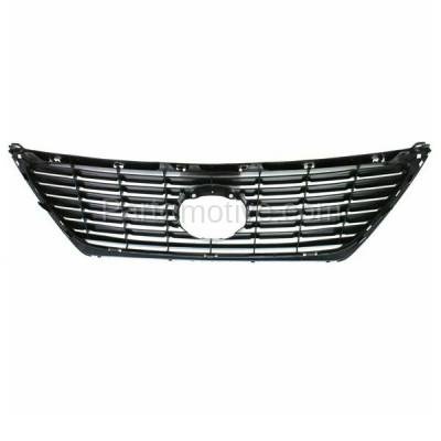 Aftermarket Replacement - GRL-2035C CAPA 07-09 LS-Series Front Grill Grille w/Pre-Collision LX1200132 5311250130 - Image 3