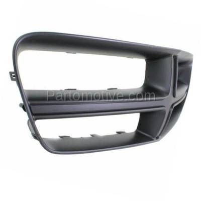 Aftermarket Replacement - GRL-1352C CAPA 11-14 Charger Front Upper Grill Grille Black Shell CH1210108 68104033AA - Image 2