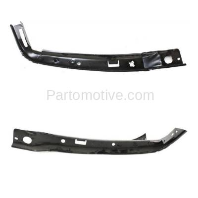 Aftermarket Replacement - BRT-1090FL & BRT-1090FR 03-09 GX470 Front Outer Bumper Cover Face Bar Retainer Mounting Brace Reinforcement Support Bracket SET PAIR Right Passenger & Left Driver Side - Image 2