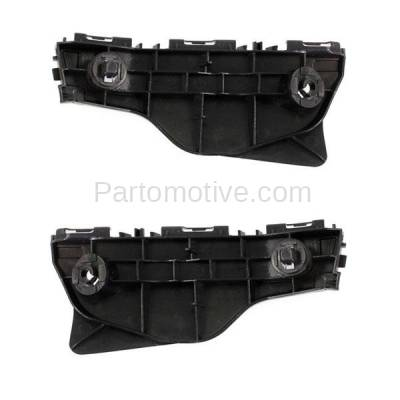Aftermarket Replacement - BRT-1197FL & BRT-1197FR 2012-2017 Toyota Priuc C 1.5L Front Outer Bumper Cover Retainer Mounting Brace Reinforcement Support Bracket PAIR SET Right & Left Side - Image 2
