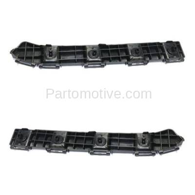 Aftermarket Replacement - BRT-1164RL & BRT-1164RR 2008-2019 Toyota Sequoia Rear Upper Bumper Cover Retainer Mounting Brace Support Bracket Plastic SET PAIR Right & Left Side - Image 2