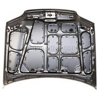 Aftermarket Replacement - HDD-1331 1992-1995 Honda Civic (DX, EX, LX) 1.5 & 1.6 Liter Engine (Sedan 4-Door) Front Hood Panel Assembly Primed Steel - Image 3