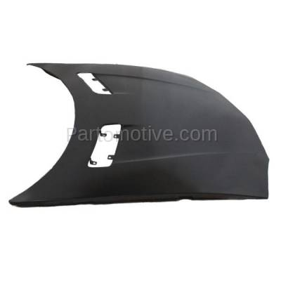 Aftermarket Replacement - HDD-1213 1993-1997 Chevy Camaro (Base, Indianapolis 500 Pace Car, RS, Z28) V6/V8 (Coupe & Convertible 2-Door) Front Hood Panel Assembly Primed Steel - Image 2