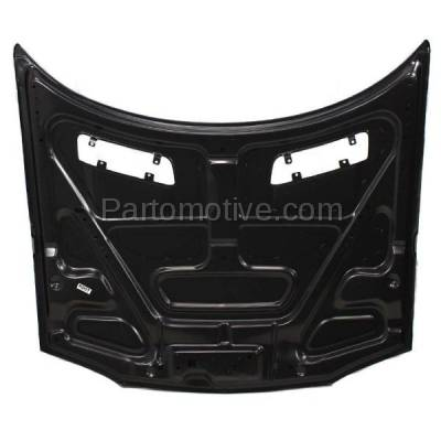 Aftermarket Replacement - HDD-1213 1993-1997 Chevy Camaro (Base, Indianapolis 500 Pace Car, RS, Z28) V6/V8 (Coupe & Convertible 2-Door) Front Hood Panel Assembly Primed Steel - Image 3