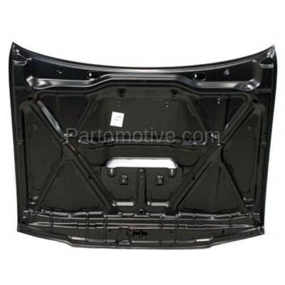 Aftermarket Replacement - HDD-1674 1999-2002 Toyota 4Runner (Base, Limited, SR5) Sport Utility 4-Door (2.7 & 3.4 Liter Engine) Front Hood Panel Assembly Primed Steel - Image 3