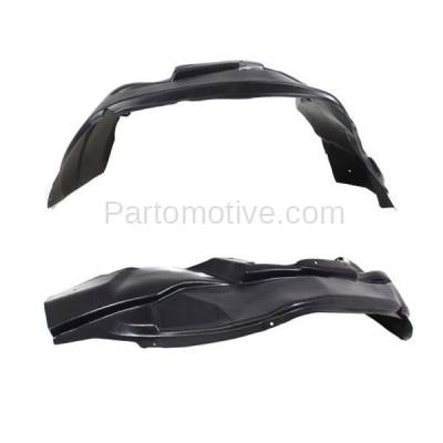 Aftermarket Replacement - IFD-1182L & IFD-1182R 07-10 Patriot Front Splash Shield Inner Fender Liner Panel Left & Right SET PAIR - Image 2